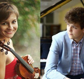 Szymon Nehring i Maria Machowska w Warszawie
