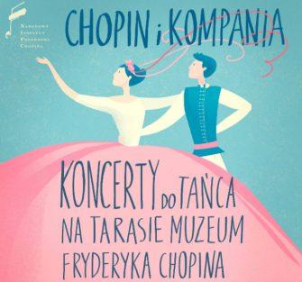Koncerty do tańca na Tarasie Muzeum Chopina