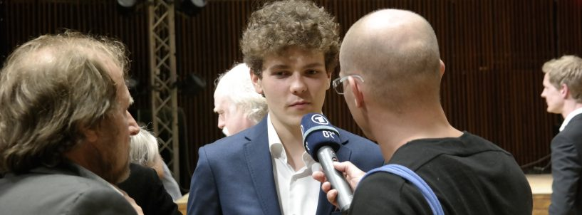 Szymon Nehring is the winner of the 15th Arthur Rubinstein International Piano Master Competition.