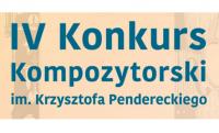 Gala finałowa IV Konkursu Kompozytorskiego im. Krzysztofa Pendereckiego