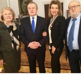 (Polski) Złoty Medal Zasłużony Kulturze Gloria Artis dla Sophie-Mutter