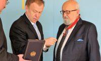 (Polski) Krzysztof Penderecki nagrodzony Wielkim Krzyżem Zasługi z Gwiazdą