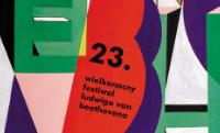 (Polski) Plakat 23. Wielkanocnego Festiwalu Ludwiga van Beethovena